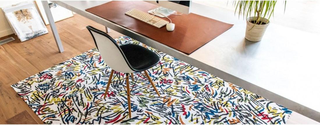 tapis de sol bureau tapis chic