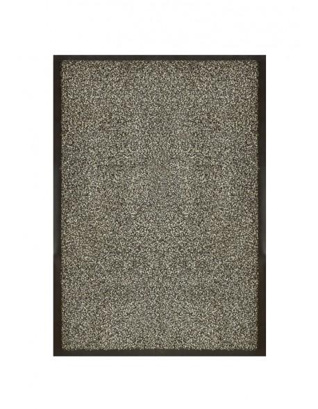 tapis de porte d entree nylon chine gris rectangulaire 40 x 60cm