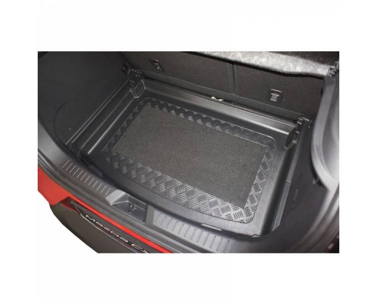 tapis de coffre pour mazda cx 3 a partir de 2015 suv 5 portes pour le modele avec surface de chargement variable