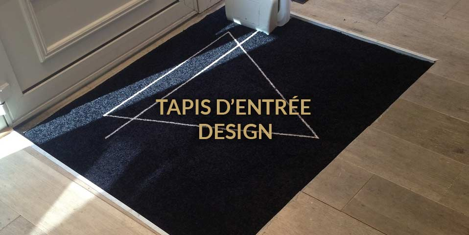 tapis d entree design pour entreprises
