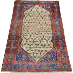 tapis persans de environ 1 50 x 2 10