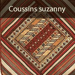 un tapis persan fait a la main