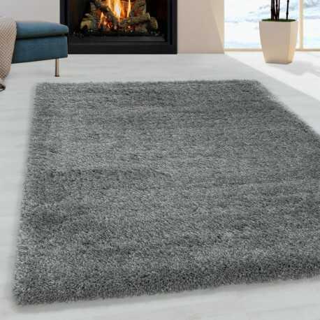 tapis de salon shaggy agreable doux tapis de chambre gris clair