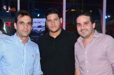 Artur Rocha, Tiago Bayde e Pedro Paulo Vale