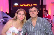 Lia Saboia e Evaristo Barros