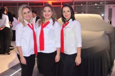 Tissiana Fontenele, Melina Serqueira e Dilauba Lima