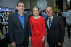 Alexandre Pereira, Agda Muniz e Andre Montenegro