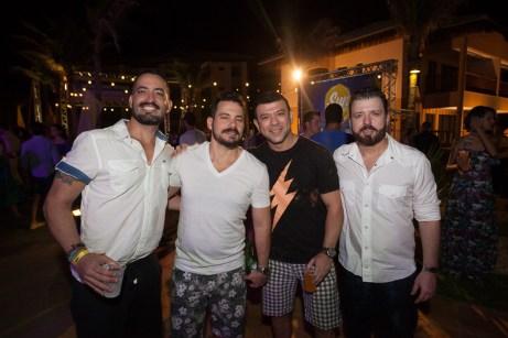 Eric de Almeida, Miguel Dias, Alan Carvalho e Cesar de Lima