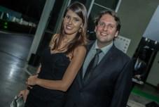 Flavia Laprovitera e Daniel Simoes