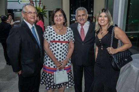 Helio Galisa , Conceição , Emanuel Capistrano e Paula Frota