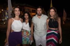 Rachel Gomes, Lara Carvalho Cindi Santana e Altemar