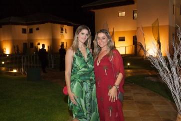 Rebeca Leal Bastos e Célia Magalhães