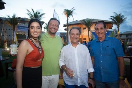 Renata Alves, Adriano Nogueira, Jose Carlos Pontes e João Fiuza_