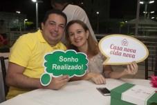 Elpidio Moreira e Ana Paula Albuquerque