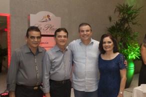Luiz e Paulo Teixeira, Ricardo Bezerra e Virginia Almeida_