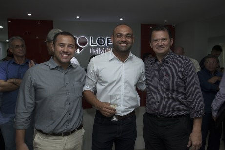 Marcio Andrade, Araujo Ataic e Eduardo Pimentel