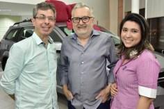 Andre Marinho, Marcone Viana e Juliana Amaral