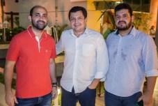 Icaro Cavalcante, Ladislau Nogueira e Adriano Alves