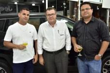 Jucelino Pinto, Franciso Morales e Alexandre Fazanha