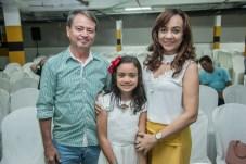 Ocelio Mendonça, Luiza Carvalho e Sidna Lima