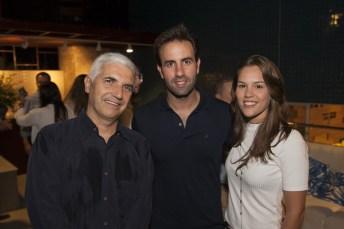 Fabian Sales, Vitor Frota e Dani Eloy