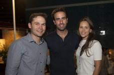 Fabio Albuquerque, Vitor Frota e Dani Eloy