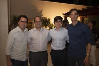 Fernando Castelo Branco, Rafael Ary, Renato Barroso e Felipe Okenda