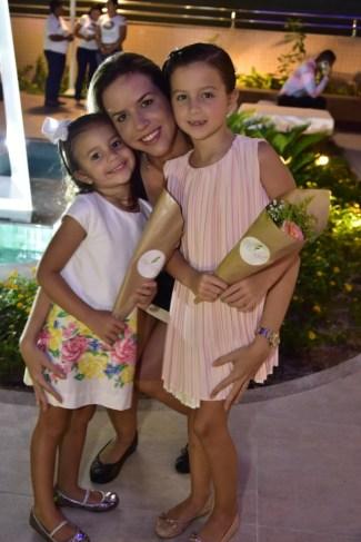 Helena, Isabele e Thais Barros Leal