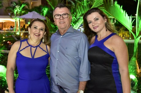 Heloisa e Luiz Carlos Rolim e Inna Moreira