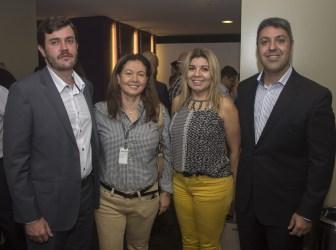 Jader Koller, Amanda Farias, Klly Sampaio e Daniel Buontempo