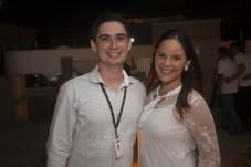 Leandro Mendes e Dandara Sampaio
