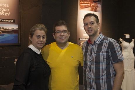 Maria Mapurunga, Vander Jamil e Alfredo Enio