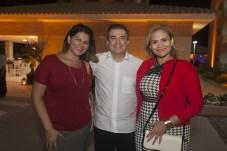 Patricia Mota, Ricardo Bezerra e Nivana Guimaraes