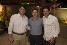 Ricardo Ary, Fabio Albuquerque e Romulo Santos