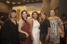Fernanda Peixoto, Lia Linhares, Marcia Travessoni, Mayra Silva e Geovana Castro_