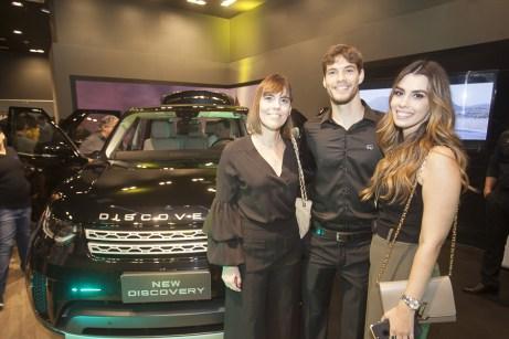 Fernanda peixoto, Pedro Salazar e Camila Moreira