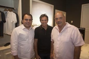 Gentil Linhares, Aderaldo Silva e Fernando Travessoni_