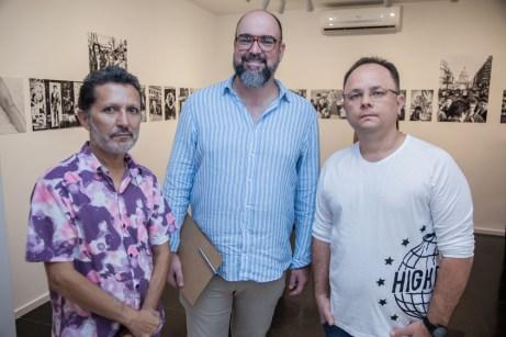 Mario Sanders, Newton Whitehurst e Marcos Oriah (1)