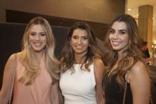 Sarah Castro, Marcia Travessoni e Camila Moreira