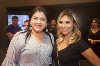 Viviane Almada e Grazi Nogueira