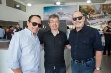 Alexandre Guilhon, Andre Marinho e Antonio Marques