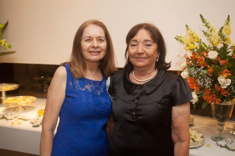 Eneide Saldanha e Tcheska Sa Barreto