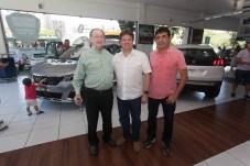 Iran Rabelo, Lewton Monteiro e Elder de Almeida