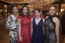 Jaqueline Baião, Elissa Sobral, Carolina Hipolito e Rebeca Souza