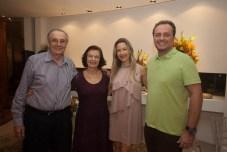 Jurandir e Eliane Picanço, Carmen Ragel e Adriano Nogueira