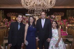 Luiz, Aline, Teco e Monica Rocha