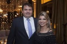 Marcos Vinicius e Daniela Alcantara