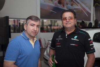Max Freiria e Samuel Diniz