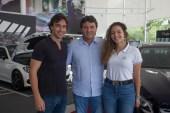 Rodrigo Carvalho, Luiz Teixeira e Gabriela Carvalho