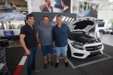 Rodrigo Carvalho, Patriolino Dias e Evandro Colares